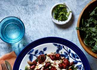 pileca salata s grahom recept