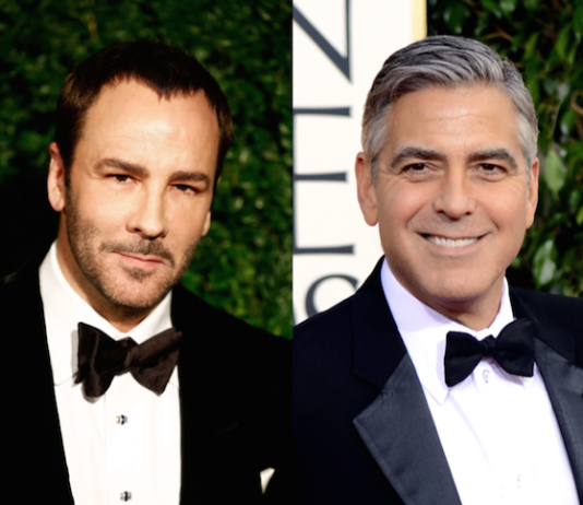 Tom Ford an George Clooney