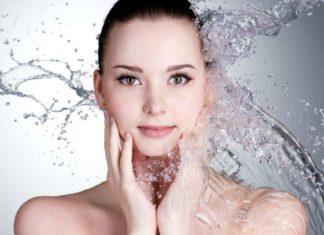 mineralna voda lice