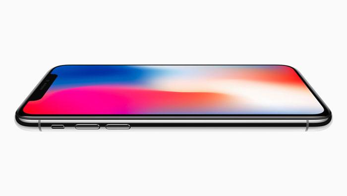 iPhone X sa strane