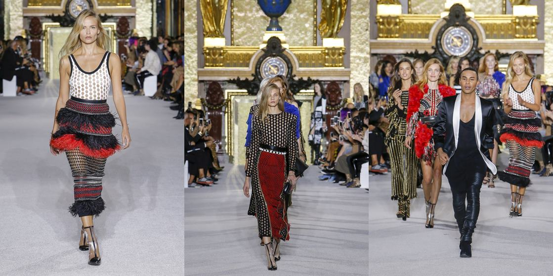 pariz fashion week balmain proljece ljeto 2018