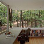 knjige interijeri ured priroda