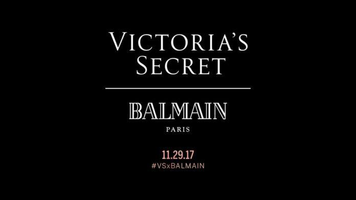 victorias secret balmain