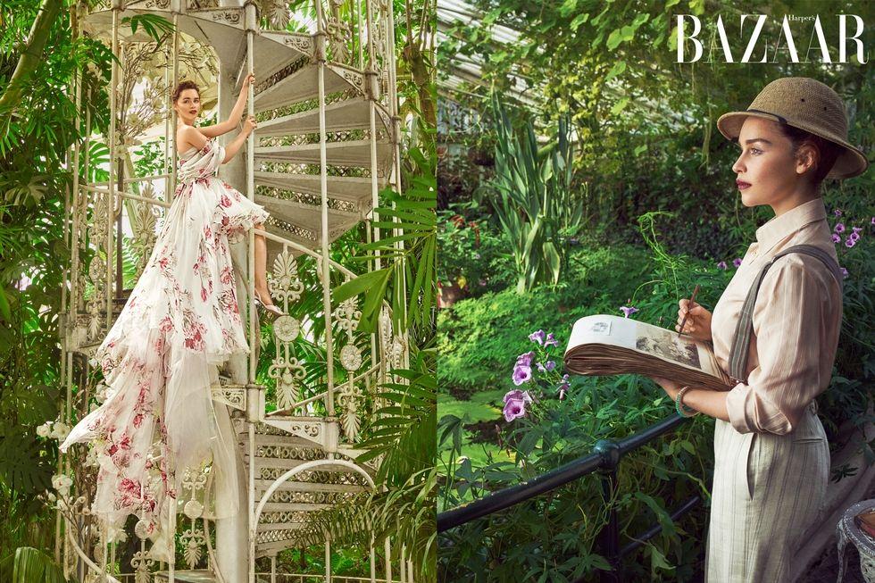 H. Bazaar i Emilia Clarke editorijal